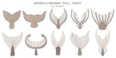 drawing Sketch tail mermaid concept fish tail commission merman xelgot
