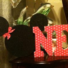 Minnie Mouse 1st Birthday project