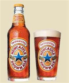 New Castle Brown Ale (he carried the cases)
