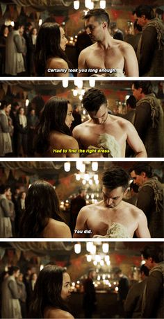 John and Emori #The100 #7x05 The 100 Quotes, Tv Quotes, Grey Anatomy Quotes, Greys Anatomy, Grey's Anatomy Doctors, Murphy The 100, Lincoln And Octavia, Im Going Crazy, Marie Avgeropoulos