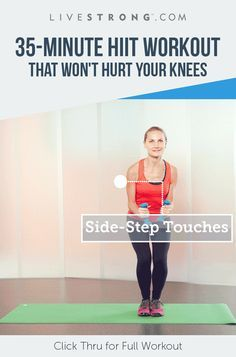 Finally, a HIIT workout designed for people with bad knees.