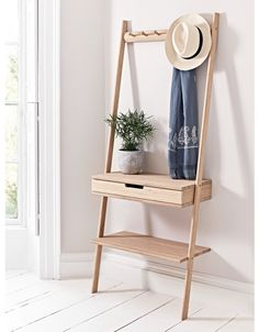 Storage Boxes & Clothes Rails, Wooden & Metal Home Storage Solutions