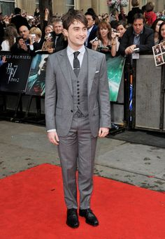 Pin for Later: You Can't Unsee the Outfits Your Favorite Harry Potter Characters Wore to All the Premieres Daniel Radcliffe Aka Harry Potter in 2011.