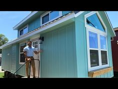 MOST ADORABLE tiny home you've ever seen! - YouTube