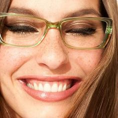 The best way to wear eye makeup with glasses.