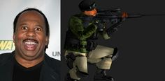 Leslie David Baker as Richard was Umbrella Biohazard Countermeasure Service Squad C, Bravo Mercenary in Digital World. He was also U.S. Army sniper in U.S. Ed Anderson and Mikhail Victor hired him to be part of Squad C, Bravo Platoon. In September 26, 1998 They orders to eliminate supervisors in Piximon's Temple and they lost 5 mercenaries. In September 28th, 1998. He was killed in Odaiba Graveyard Park, shot by T-Bird the Umbrella Security Services. And he shot him back.
