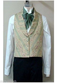 Mens-Victorian-Shawl-Collar-Vest-1850-1865-Laughing-Moon-Bijoux-Sewing-Pattern