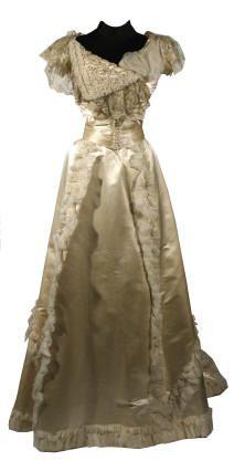 1900 Wedding dress
