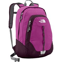 Click Image Above To Buy: The North Face Women's Vault Premiere Purple/baroque Purple - The North Face School & Day Hiking Backpacks