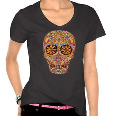 #DayOfTheDead T-Shirt #hoodrat  I would soooo wear this shirt!