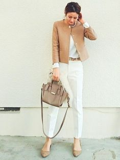 Women's Work Fashion Chic Office Outfit, Office Fashion, Office Outfits, Work Fashion, Casual Outfits, Fashion Outfits, Womens Fashion, Work Outfits, Office Chic