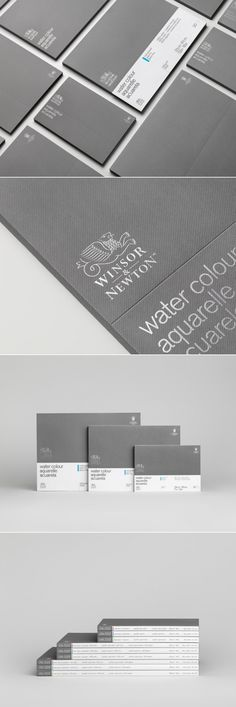 Carl Nas Associates Follows the Golden Ratio for Winsor & Newton Packaging — The Dieline | Packaging & Branding Design & Innovation News