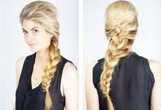 12 Super-Easy #HairLooks Every Woman Can Do in Five Minutes #hairstyles #haircare