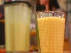 Ginger Mango Lassi recipe from Dave Lieberman via Food Network