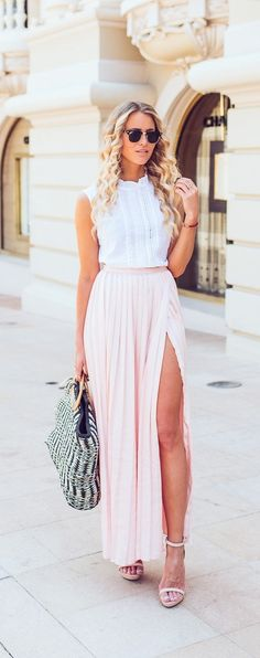 Long Skirts Done Right - Tips and Outfit Ideas