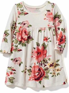 Old Navy has adorable toddler girls' clothes. Shop today to find cute little girl clothes for play, outings and photos. Baby Girl Fashion, Toddler Fashion, Kids Fashion, Fashion 2016, Outfits Niños, Kids Outfits, Baby Outfits, Moda Kids, Baby Clothes Patterns