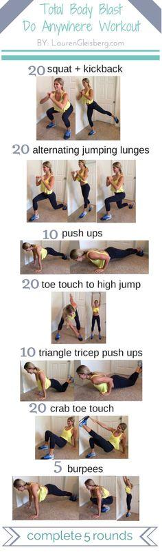 Total Body Workout Circuit -10/1 (via Bloglovin.com )