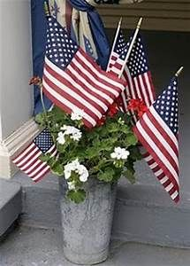 sap bucket with flags and flowers - - Yahoo Image Search Results