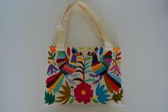 Hand Embroidered Otomi Handbag | Shoulder Bag | Laptop bag | Otomi colorful…