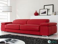 Sofá moderno de 3 y 2 plazas modelo Adagio fabricado por Gamamobel en Sofassinfin.es