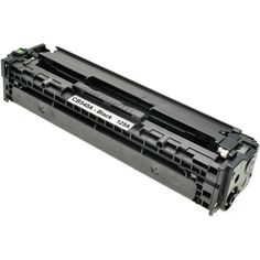 Remanufactured replacement for HP 125A (CB540A) black laser toner cartridge