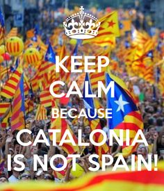 This sign should answer the question. | Community Post: 21 Things You Must Know About Catalonia
