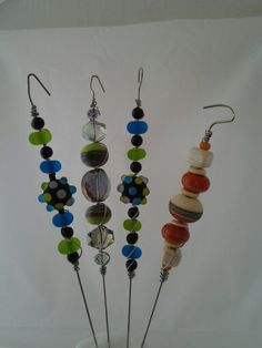 Artisan beaded cake testers!  Great gifts.  See PattyG Designs.