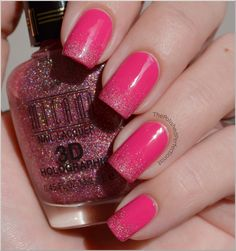 Sparkly PINK.