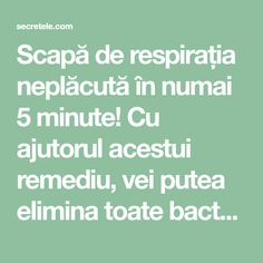 Scapă de respirația neplăcută în numai 5 minute! Cu ajutorul acestui remediu, vei putea elimina toate bacteriile din cavitatea bucală! - Secretele.com