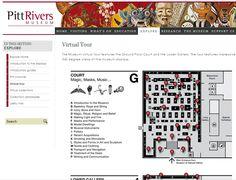 Pitt Rivers Museum website - Virtual tour