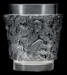 Bacchus Vase, Rene Lalique Vases - DJL Lalique