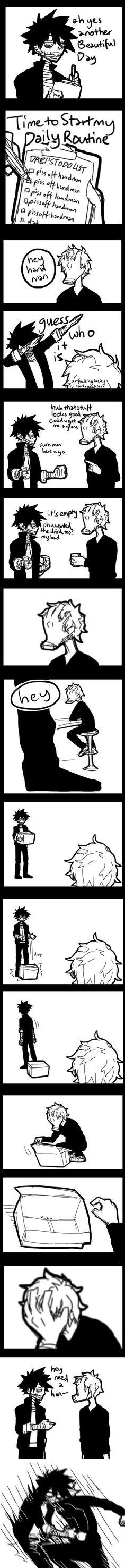 Boku no Hero Academia || Shigaraki Tomura/Shimura Tenko || Dabi