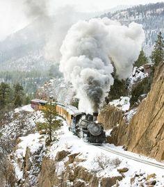 coming around mountain near Silverton, Colorado