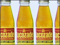 Lucozade. For when you were poorly. We had one bottle that always went flat and sticky between colds.