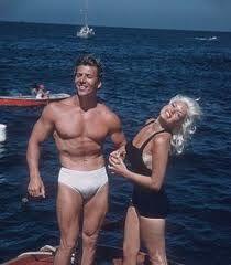 Mickey Hargitay with Jayne Mansfield