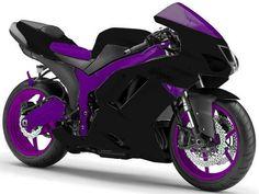 Purple coolness on wheels...