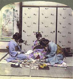 Japan XIX century in stereo