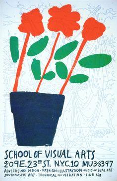 Tony Palladino, poster for SVA, 1959
