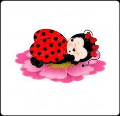 Ladybug Cartoon, Ladybug Art, Ladybug Crafts, Clipart, Bug Tattoo, Mickey Christmas, Little Critter, Scrapbook Designs, Handmade Birthday Cards