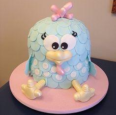 E esse BOLO da galinha pintadinha ?!? Parabéns @mafjunqueira, mais fofo impossível !!! #cake #bolo #perfeito