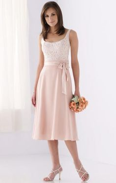 Knee length lacey top - maybe in a darker more coral pink though
