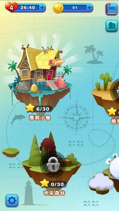 I Love Games, Cute Games, Game Ui Design, Map Design, Map Games, Space Games, Game Props, Game Interface, Game Background