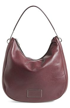 Free shipping and returns on MARC BY MARC JACOBS 'Ligero' Hobo Bag at Nordstrom.com. Lightly pebbled leather refines the lightly structured silhouette of an utterly modern and versatile hobo bag, completed with a logo-stamped patch front and center.