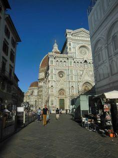 Llegando a la Piazza del Duomo. #EuropeosViajeros #Florencia #Firenze #Italia #Italy #Europe #Viaje #Travel #Turismo #Tourism #Toscana