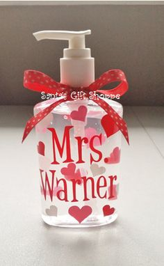 38 Best Valentine S Day Gifts For Teachers Images On Pinterest