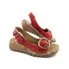 Women's Fly London Tram Sling Back Sandals | Fly London at rubyshoesday
