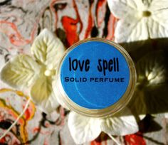 NEW Love Spell Solid Perfume by daisycakessoap on Etsy, 4.00usd
