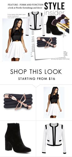 """""""Untitled #154"""" by general-blueberry87 ❤ liked on Polyvore featuring Post-It, Monza, Boohoo, Witchery and Lola"""