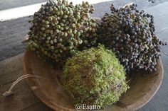 Groendecoraties en Hoffz @Esatto www.esatto-by-ravensbergen@blogspot.nl Rustic Fall Decor, Country Decor, Yule, Natural Living, Coffee Table Vignettes, Minimalist Christmas, Simple Flowers, Nature Decor, Rustic Charm