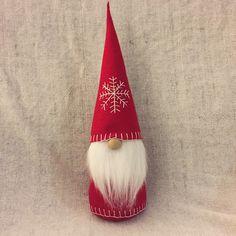 Christmas Gnome Swedish Tomte Nisse Felt Doll Large by ShopUrbanDesign on Etsy https://www.etsy.com/listing/251673697/christmas-gnome-swedish-tomte-nisse-felt